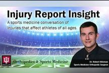 Injury Report Insight / Listen in to hear IU Health Sports Medicine Orthopedic Surgeon Dr. Robert Klitzman discuss key NFL player injuries and which players you should avoid in your fantasy football leagues. Dr. Klitzman analyses NFL players with recent injuries and tells you what you need to know about their recovery timetables.