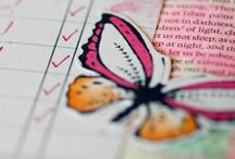 Bible Journaling- Decorate Your Bible / Bible journaling ideas, Bible journaling tutorials, Bible journaling for beginners,