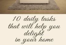 Organization / Inspiration and Ideas on How to Organize, Tips on Decluttering,  DIY,  Budget Organization, and Homemaking.