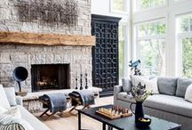 Focus on Fireplaces / One of the best ways to stay warm this winter is to sit around a crackling fireplace. Whether yours is vintage with beautiful brickwork or modern with sleek edging and clean lines, you'll be sure to find inspiration here.