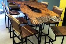 Live Edge Furniture / Artistic Live edge furniture and live edge tables   Littlebranch Farm