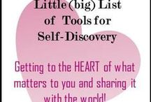 Tools for Self Discovery and Self Expression / We want you to find the Key Discoveries™ that will  unlock your mind, body and HEART, and turn you on enough to share yourself and your He(art) with the world.  Through this expression we make a HEART to HEART connection. We're using hashtags #keydiscoveries #iamwhole.  Start your own board of Key Discoveries™.  For more information go to: www.modernbagladies.com/little-curated-list-of-self-discovery-and-self-expression-tools/