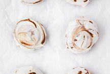 Sweet / Cakes, cupcakes, unicorn desserts, pies, cobblers, pretzel bites, pumpkin donuts.