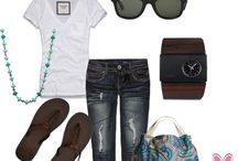 Cool and Casual Summer Style☀️ / Casual Outfits for Summer and Spring / by Ashley Inman