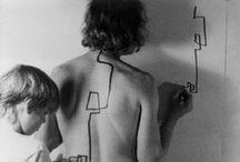 Le corps peint/recouvert / Comment jouer sur la distance entre la surface de l'image et la surface de la peau ?