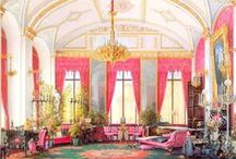 historical homes and interiors