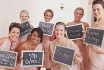 Three Times a Bridesmaid. / All about the bridesmaids and maid of honor for my future wedding... / by Ashley Inman
