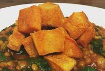 Meatless Recipe Ideas / Eating well on a budget often meals cutting out the meat.