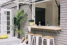 Porch Idea Board / Cozy Porch and patio ideas