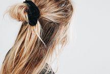 Hair / hair styles, hair tutorials, hair looks, brown hair, long waves, loose waves, loose curls, curl tutorials