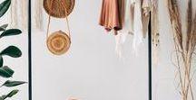 Closet / Closet, closet inspiration, minimal closet, closet organization