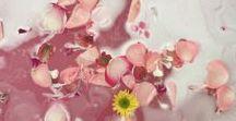 Bath / bath products, taking a bath, bath water, bath inspiration, flower bath