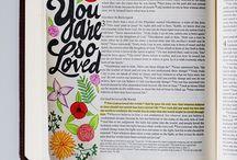 bible / by Erin Stewart