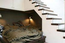 Nooks and Crannies / Secret compartments, hidden rooms, sunken gardens - big dreams in small spaces,