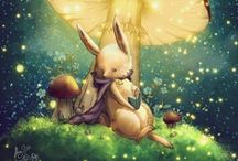 Cuteness and Stuff  / A bunch of Illustrations, Photos, or just some Things that I found cute.