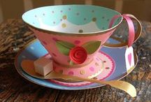 Bridal Shower (Tea Party Themed) / Thinking of Alice in Wonderland/ Tea Party Themed / by Rehana Khan