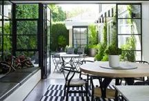 gardens and courtyards / by Rena DeAngelo