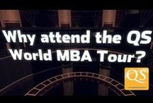 QS World MBA Tour / The QS World MBA Tour offers you the opportunity to meet with MBA admissions officers and alumni from top business schools around the world.   Attend our events to receive advice on your #MBAadmissions strategy, improve your #GMAT or #GRE scores, and find out how to apply for $1.7 million in QS #scholarships. #QSMBATour