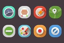 Art: UI & Icons / by Rehana Khan