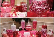 Candy Table / colors, themes..see it all / by Laura Bullock