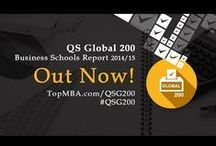 QS Global 200 Business Schools Report 2014/15 / Features of the Global 200 MBA rankings 2014/15: -The top 200 MBA programs around the world, ranked on the basis of data taken from 5,669 actively hiring international #MBA #recruiters and 7,187 academics. -#Rankings categorized into five regions: Asia-Pacific, Europe, Latin America, the Middle East & Africa, and North America (the US & Canada). -Expert commentary and insight from TopMBA.com editor-in-chief Louis Lavelle. -Demographic #breakdowns for each featured school.