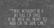 This I Swear By The Stars / Quotes inspired by the stars.