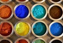 Art supply / Beautiful tools and ingredients for mark making, painting, drawing, sculpture....