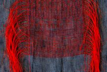 Fibre and Textile / Weaving, fabric, thread, dyeing, eco dye, stitches