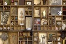 Shadowbox and Cabinet