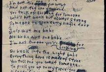 Handwritten Manuscripts