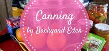 Canning | Pressure Canning Tips / Canning | Canning Vegetables | Canning for beginners | Canning Recipes | Canning Salsa | Canning Ideas | Canning Tips | Pressure Canning | Backyard-Eden.com