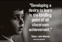 Education Pins / Our favorite Robert John Meehan quotes... / by Teacher's Journey