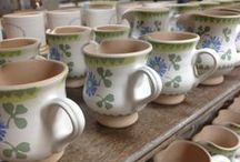 Pottery Patterns / We have 9 different patterns at Nicholas Mosse Pottery and over 50 different shapes (although not all patterns are available in all the shapes).