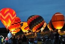 Great Galena Balloon Race / Our year round Midwest destination resort is full of magical surprises with hot air balloons floating nearby.