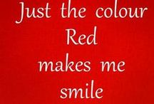 Out of my head in love with red!