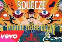 All About Squeeze / Best alternative rock/new wave/pop group EVER!  Glenn Tilbrook, Chris Difford, Simon Hanson, & Stephen Large