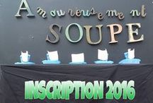 Amoureusement Soupe / Amoureusement Soupe is the only Parisian Soup Festival where the main actors are the Food Bloggers: This board is also dedicated to Soup recepies made by the Food Bloggers