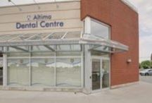 Altima Kingston Dental Centre / Altima Kingston Dental Centre is located in the Kingston Centre beside Kingston's main city bus terminal, only minutes from downtown, Queen's University, and St. Lawrence College.