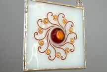 My Glass Art / Original stained and fused glass designs by Anne Simon