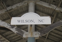 In Our Community: Wilson, NC / Wilkinson is a proud new member of the Wilson, NC community! This board shows off the people and businesses we look forward to sharing a city with.