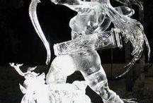 ART in SAND,SNOW,ICE,SALT