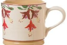 Mugs / We have 3 sizes of Mugs at Nicholas Mosse Pottery - small, large and tall.