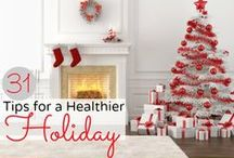 Holiday Survival Guide / Ideas and tips to keep you healthy and stress-free during the holiday season!