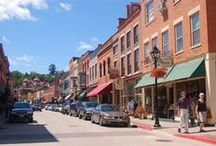 Galena Summer Activities / Galena, IL is a hidden gem just 2.5 hour west of Chicago. The rolling hills, scenic roads and historic charm rejuvenate the heart & soul. Galena is inspired by nature and overlooks the banks of the Galena River.  The historic downtown  and surrounding breathtaking landscape offer incredible recreation, shopping, & dining, mixed with an eclectic and magical charm you will never forget.  Follow this board for direct links to the best Galena websites!