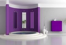 Colorful, Bright and Cheery Bathrooms / Fun and Daring Bathrooms to Cheer You Up!