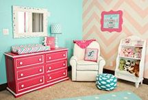 Redesign: Favorite Spaces and Places / These are my inspiration for home decor. Clean, bright colors and rooms and spaces that make life a little brighter.