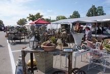 antique markets, art fairs