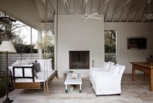 P O R C H E S / outdoor living, balconies, porches, patios / by Adrienne Davis