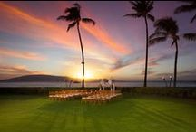 #SheratonMauiWeddings / Each of our amazing wedding venues speaks to you in a different way, from dramatic to intimate, oceanfront to tropical serenity. With 23 lush acres gracing Ka'anapali Beach and historic Black Rock, the possibilities are as infinite as your imagination. http://www.sheraton-maui.com/weddings/overview