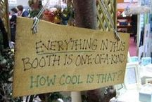 Craft Booth Ideas / by Anne Gregory